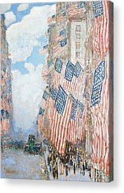 American Impressionist Acrylic Prints