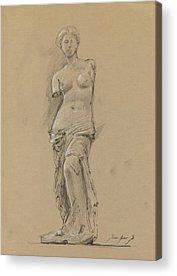 Louvre Acrylic Prints