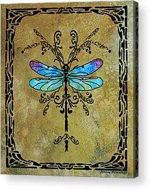 Dragonflys Acrylic Prints