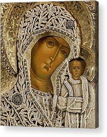 Orthodox Mixed Media Acrylic Prints