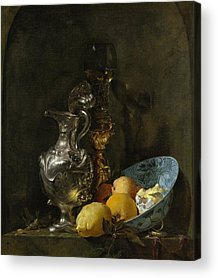 Still Life With Old Pitcher Acrylic Prints