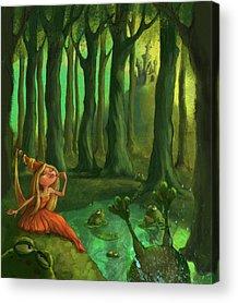 Princess Acrylic Prints