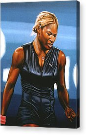 Tennis Acrylic Prints