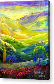Weeping Willows Acrylic Prints