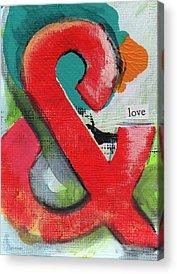Letter Art Acrylic Prints