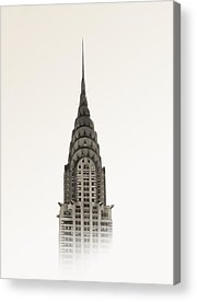 Chrysler Building Acrylic Prints