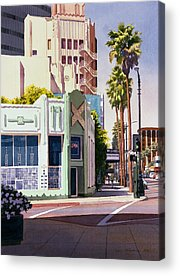 Los Angeles Acrylic Prints