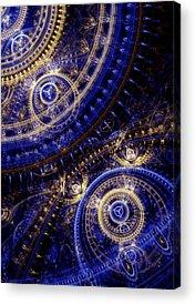 Cogwheels Acrylic Prints