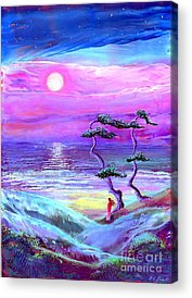 Dreamscape Paintings Acrylic Prints