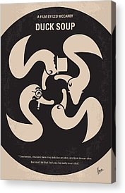 Groucho Marx Digital Art Acrylic Prints
