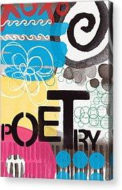 Poetry Acrylic Prints