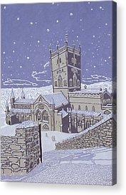 Church Yard Acrylic Prints