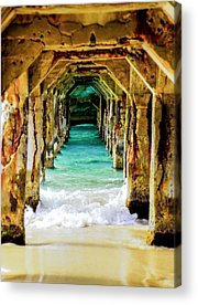Piers Acrylic Prints