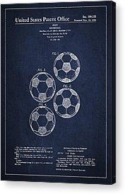 Soccer Games Acrylic Prints