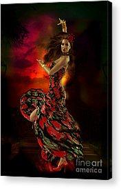 Carmen Acrylic Prints