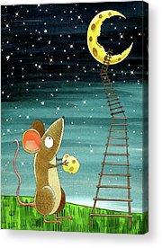 Mice Acrylic Prints