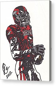 Darren Drawings Acrylic Prints