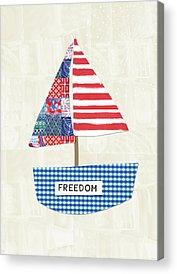 Corporate America Acrylic Prints