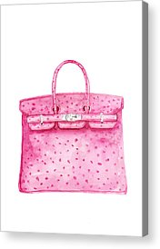 56fe307a4467 Birkin Bag Acrylic Prints