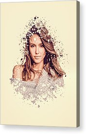 Jessica Alba Acrylic Prints