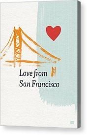 San Francisco Bridge Acrylic Prints