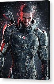 Mass Effect Acrylic Prints