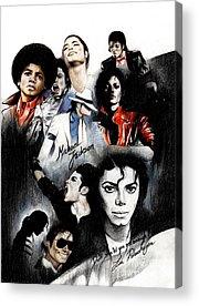 Michael Jackson Acrylic Prints