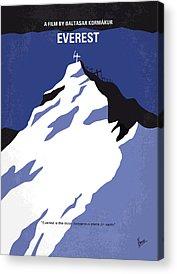 Climbing Acrylic Prints