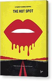 Dennis Hopper Acrylic Prints