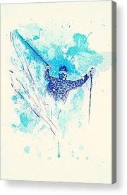 Athletes Acrylic Prints