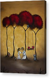 Swing Paintings Acrylic Prints