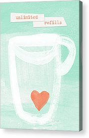 Tea Acrylic Prints