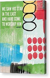 Worship Acrylic Prints