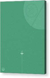 Space Ships Acrylic Prints