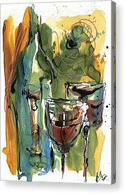 Wine Art Acrylic Prints