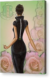Pretty In Pink Acrylic Prints