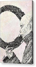 Buddhist Drawings Acrylic Prints