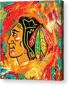 Hockey Acrylic Prints