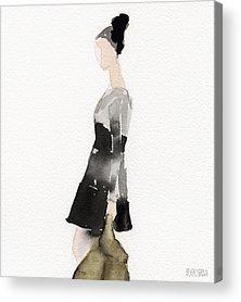 Fashion Illustrations Acrylic Prints