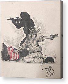 Soldier Acrylic Prints