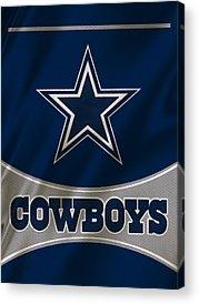 Cowboys Acrylic Prints