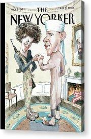 Terrorist Acrylic Prints