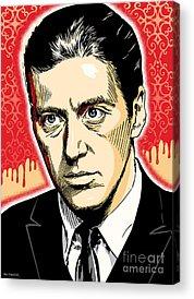 Al Pacino Acrylic Prints