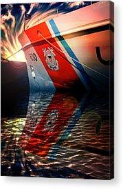 Coast Guard Acrylic Prints