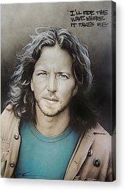 Pearl Jam Acrylic Prints