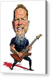 Metallica Acrylic Prints