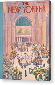 Grand Central Terminal Acrylic Prints