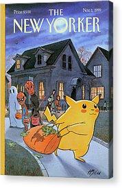 Pokemon Acrylic Prints