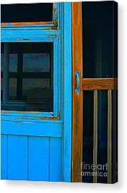Mom And Pop Motels Photographs Acrylic Prints