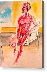 Nina Mirhabibi Drawings Acrylic Prints